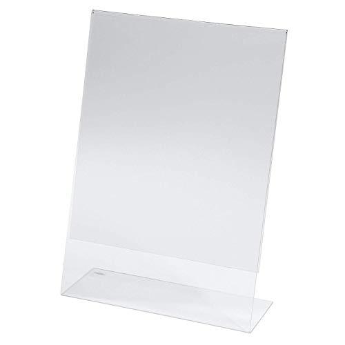 SIGEL TA210 Tischaufsteller schräg, für A4, glasklar Acryl - weitere Größen