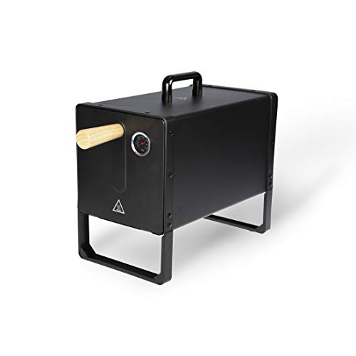 BARBEC-U Elektrischer Räucherofen, mit Temperaturregler und Thermometer für ideales Räuchern von...