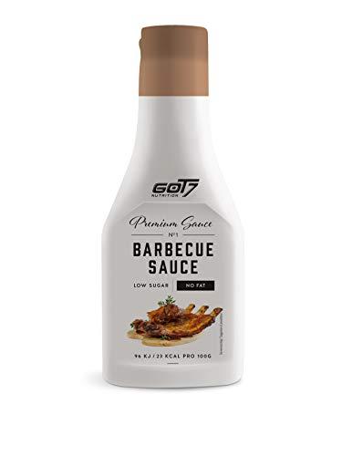 Got7 Premium Sauce No.1 Soße Grillsoße Perfekt Zur Diät Abnehmen Fitness Bodybuilding 285ml (BBQ)