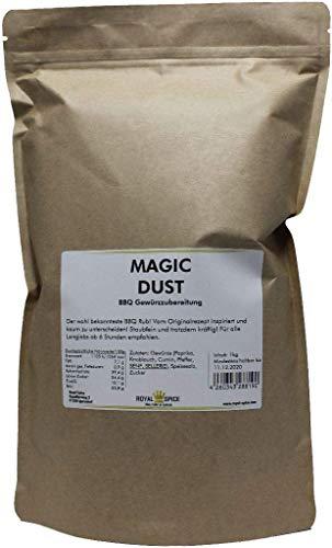 Royal Spice Magic Dust BBQ Rub Gewürzmischung 1kg - Erster In Deutschland Hergestellter Magic Dust...