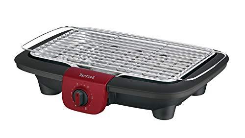 Tefal BG90E5 Easygrill Adjust Elektro-Tischgrill (2300 Watt, 720 cm² Grillfläche)...