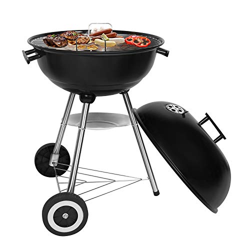 Sunjas Holzkohlegrill, Kugelgrill, Outdoor Reisegrill, BBQ Campinggrill, Party, Familienferien,...