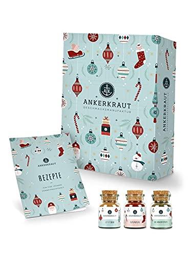 Ankerkraut Premium Gewürz-Adventskalender 2021 | Weihnachtskalender mit 24 Gewürz-Überraschungen...