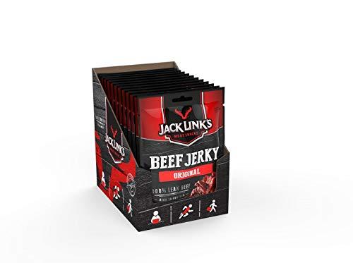 Jack Links Beef Jerky Original – Proteinreiches Trockenfleisch vom Rind – Getrocknetes High...