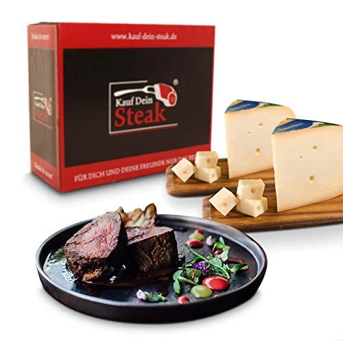 KDS Steak, Rumpsteak, Rib-Eye-Steak, T-Bone Steak alles DRY AGED Steakpfeffer, Käse Goudas jung...