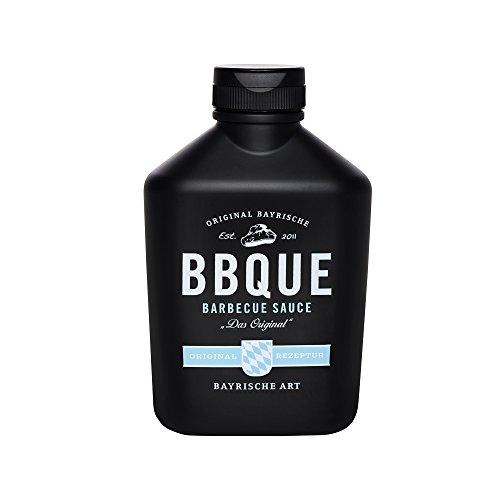 BBQUE Bayrische Barbecue Sauce - Das Original - 472g – 100% natürliche Zutaten – Highlight für...