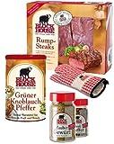 RUMPSTEAK PREMIUM Set mit Frischfleisch, Steakpfeffer & Co. inklusive gekühltem Versand innerhalb...