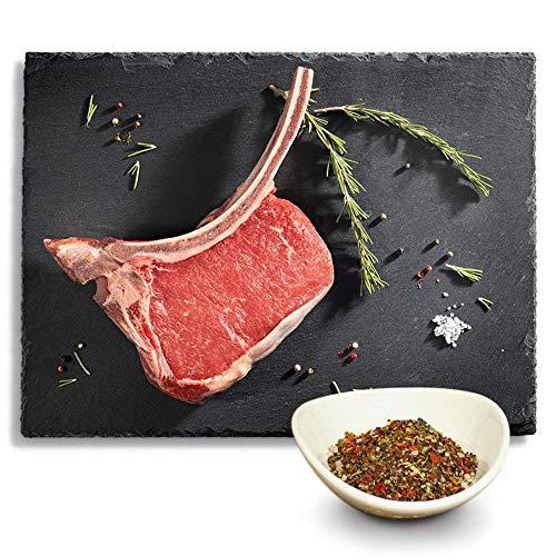 KAUF DEIN STEAK 3 * Tomahawk-Steaks (DRY AGED am Knochen gereift) inkl. Steakpfeffer, das perfekte...