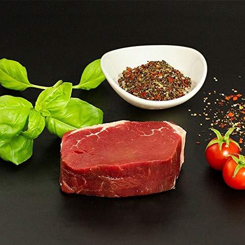 KAUF DEIN STEAK 5 * Rinderfilets (DRY AGED am Knochen gereift) inkl. Steakpfeffer, 1,1kg...