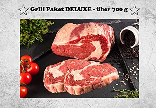 WURSTBARON® - Grill Paket DELUXE für 2 Personen - Ribeye Steak - über 700 g
