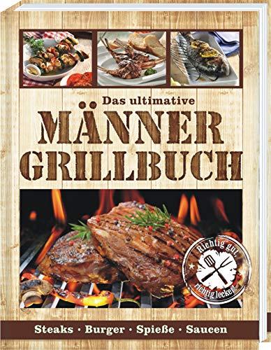 AV Andrea Verlag Männer Grill Profi Set's Männer Grillbuch Männergrillbuch (Männer Grillbuch Neu...