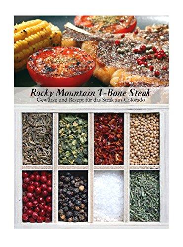 Rocky Mountain T-Bone Steak – 8 Gewürze für das würzige Steak aus Colorado (72g) – in einem...