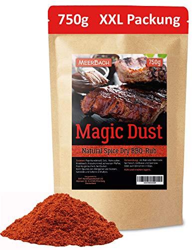 Magic Dust BBQ Rub • Gewürzmischung zum Grillen und Marinieren von Fleisch • Spitzenqualität...