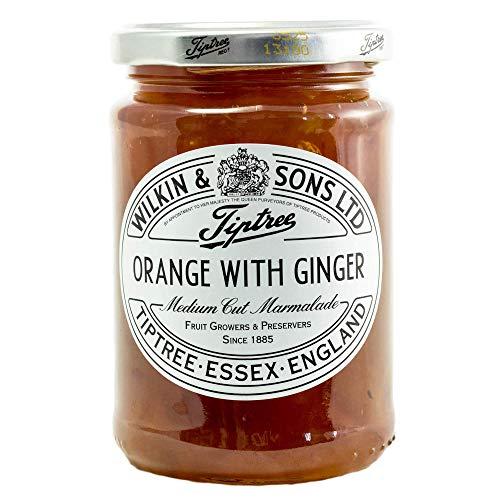 Orange mit Ginger Konfitüre von Wilkin & Sons aus England