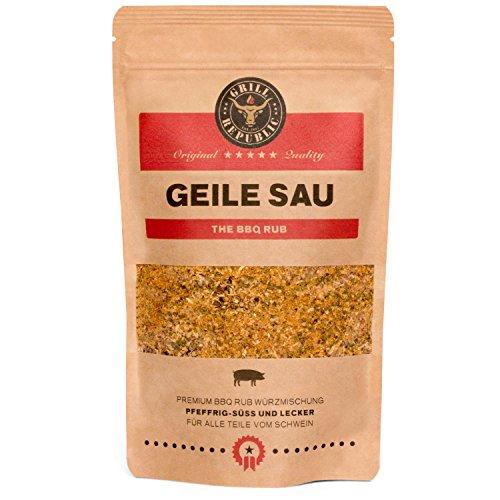 BBQ-Rub Gewürzmischung Geile Sau von Grill Republic/BBQ-Gewürz für Schweinefleisch/Premium...