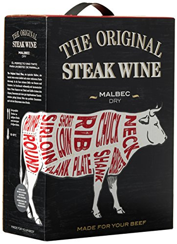 The Original Steak Wine Malbec Trocken (1 x 3 l)
