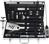 grilljoy Grill Werkzeugset mit Geschenkverpackung, 25 pc Edelstahl Grillzubehör mit...
