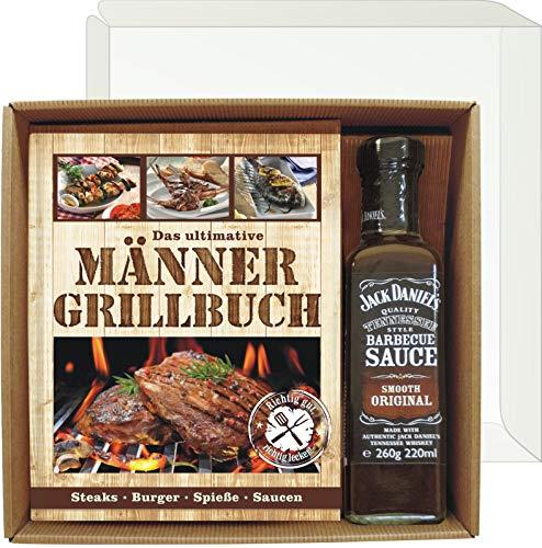 Andrea Verlag Das ultimative Männer Grillbuch Profi Set's für Männer (Männer Grillbuch mit Jack...
