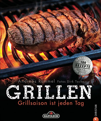 Grillen: Grillsaison ist jeden Tag. Alles, was zum Grillen gehört: Gemüse, Fleisch und Fisch...