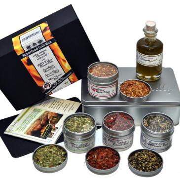 Grillset für Rubs, Marinaden und Glasuren