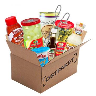 Grillpaket mit Ostprodukten