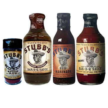 Stubb´s Grill-Set aus USA